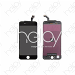 LCD DISPLAY IPHONE 6 NERO COMPLETO (EBS III) LCD ORGINALE